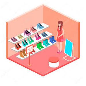 امکان شغل فروشگاه کفش در نرم افزار هلو