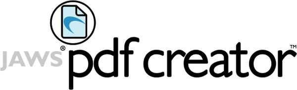نرم افزار پی دی اف JAWS PDF CREATOR