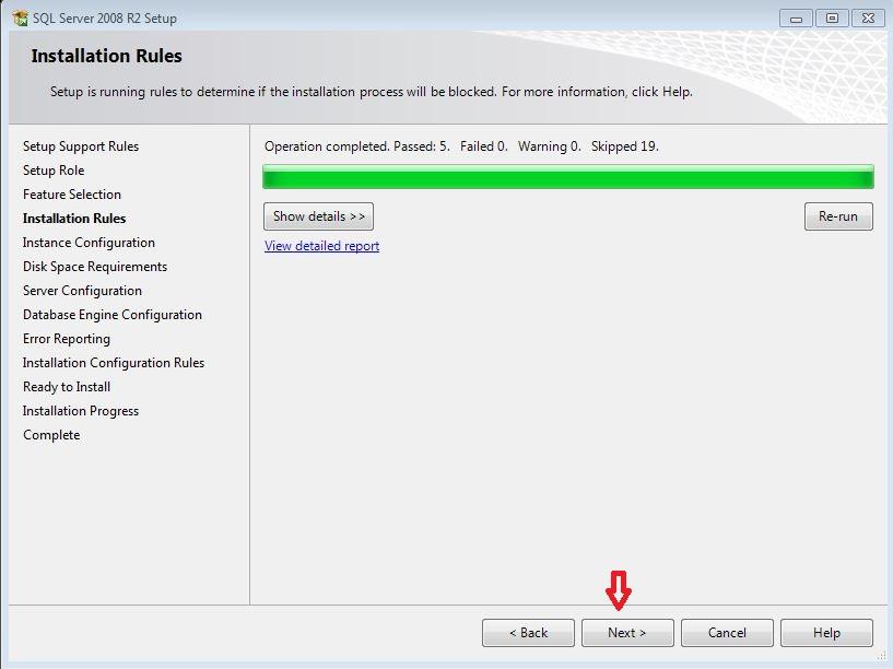 آموزش نصب SQL SERVER 2008 R2