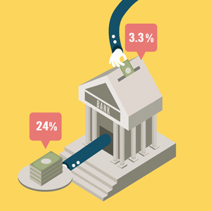 نحوه ثبت کارمزد بانک در امورمالی نرم افزار هلو